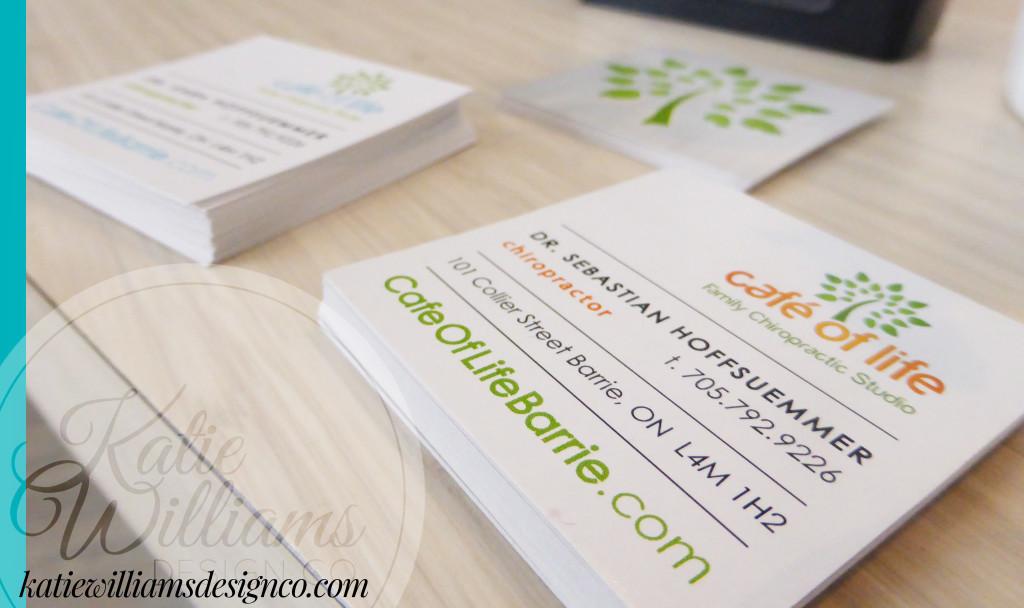 cafe of life family chiropractic studio | Katie Williams Design Co.